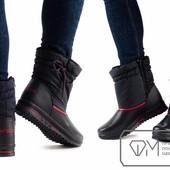 Модель № : W3430 Ботинки женские на искусственном меху