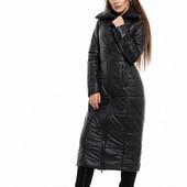Зимняя куртка женская удлиненная   42 44 46