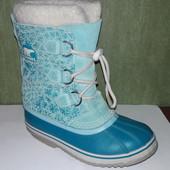 Очень тёплые зимние ботинки Sorel Waterproof  36 размер