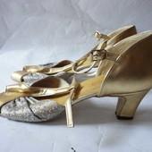 Туфли для танцев латина р.38