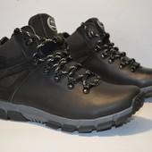 Зимние ботинки  40-45 р натуральная шерсть и водоотталкивающая
