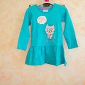 Платье евро. бренд  рост 104-110 см,116-122 см