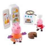 Игровой мини-набор Peppa - Кухня Пеппы (кухонная техника, 2 фигурки)в нетоварной упаковке