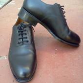 Туфли дерби ручная работа р-р. 41-й