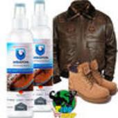 Невидимое средство от влаги и грязи, защита обуви и одежды Аквабронь