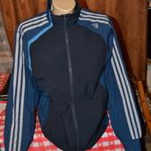спортивная термо ветровка олимпийка Adidas clima cool рост 160-164 см