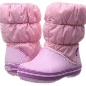 брак Сапоги Crocs winter puff boot C13 J2
