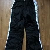 Зимний теплый полукомбинезон на подростка зимние штаны