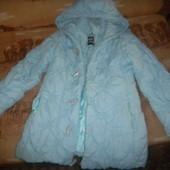 фирменная курточка зимняя для девочки,подростка,замеры