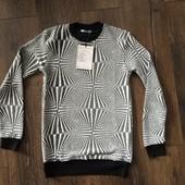 Мужской свитер Threemen черный