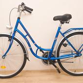 Новий велосипед West Bike City Comfort синій.