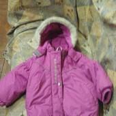 Зимняя куртка  Lenne (ленне)  80 + 6 см, состояние отличное