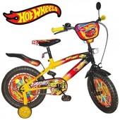 Детский велосипед Hotwheels 14,16,18,20