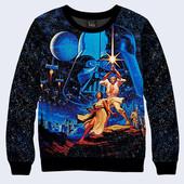 Свитшоты для мужчин и подростков Star Wars Звёздные войны