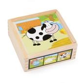 Набор кубиков «Коровка», Lelin Артикул: 22-034