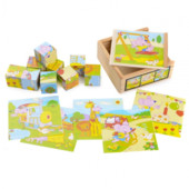 Набор кубиков «Мышонок», Lelin Артикул: 22-007