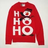 Новогодний свитер размер М, музыкальный