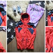 Непромокаемая куртка-спортивная парка на мембране,р-р S-М