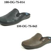 100-OG-7S  Новинка! тапочки мужские домашние Inblu Инблу, размеры 40-46, материал - велюр
