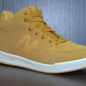 Мужские кроссовки New Balance коричневые