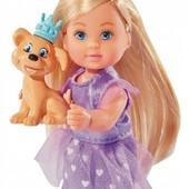 Эви Принцесса с питомцем 12 см в ассорт. от Simba Ева Еви
