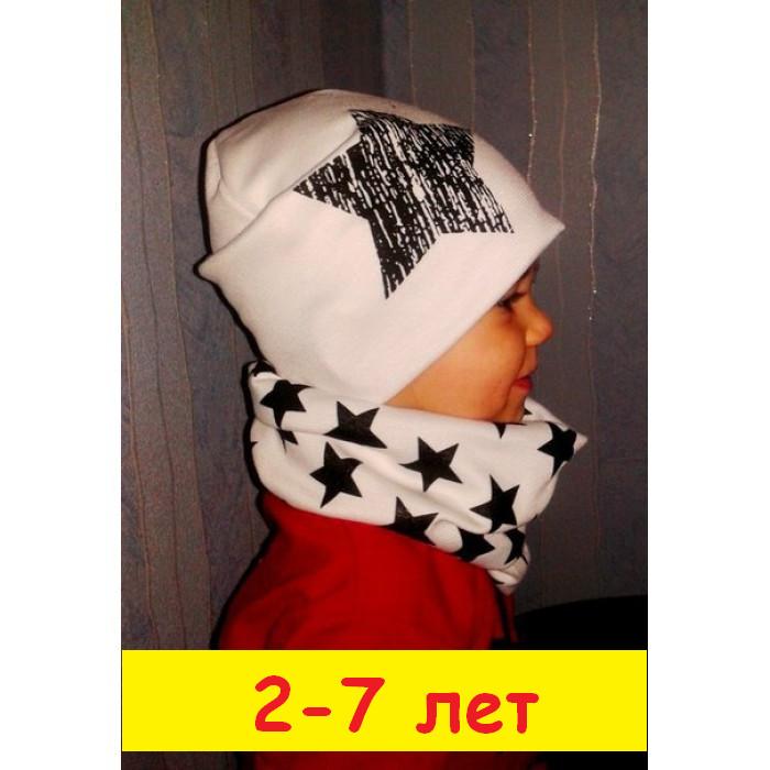 Набор: шапка+хомут. 2-7лет фото №1
