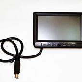 Монитор с камерой заднего вида JDR serm-11