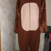 Пижама флисовая,мужская,размер L