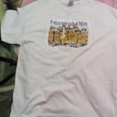 Оригинальная безшовная новая футболка Gildan ХL (Никарагуа)