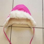 Зимняя шапка-ушанка H&M 9-12 месяцев
