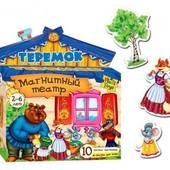 Магнитный театр. Теремок VT3206-08 рус.