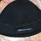 Мужская шапка серая теплая куплена в Англии Karrimor