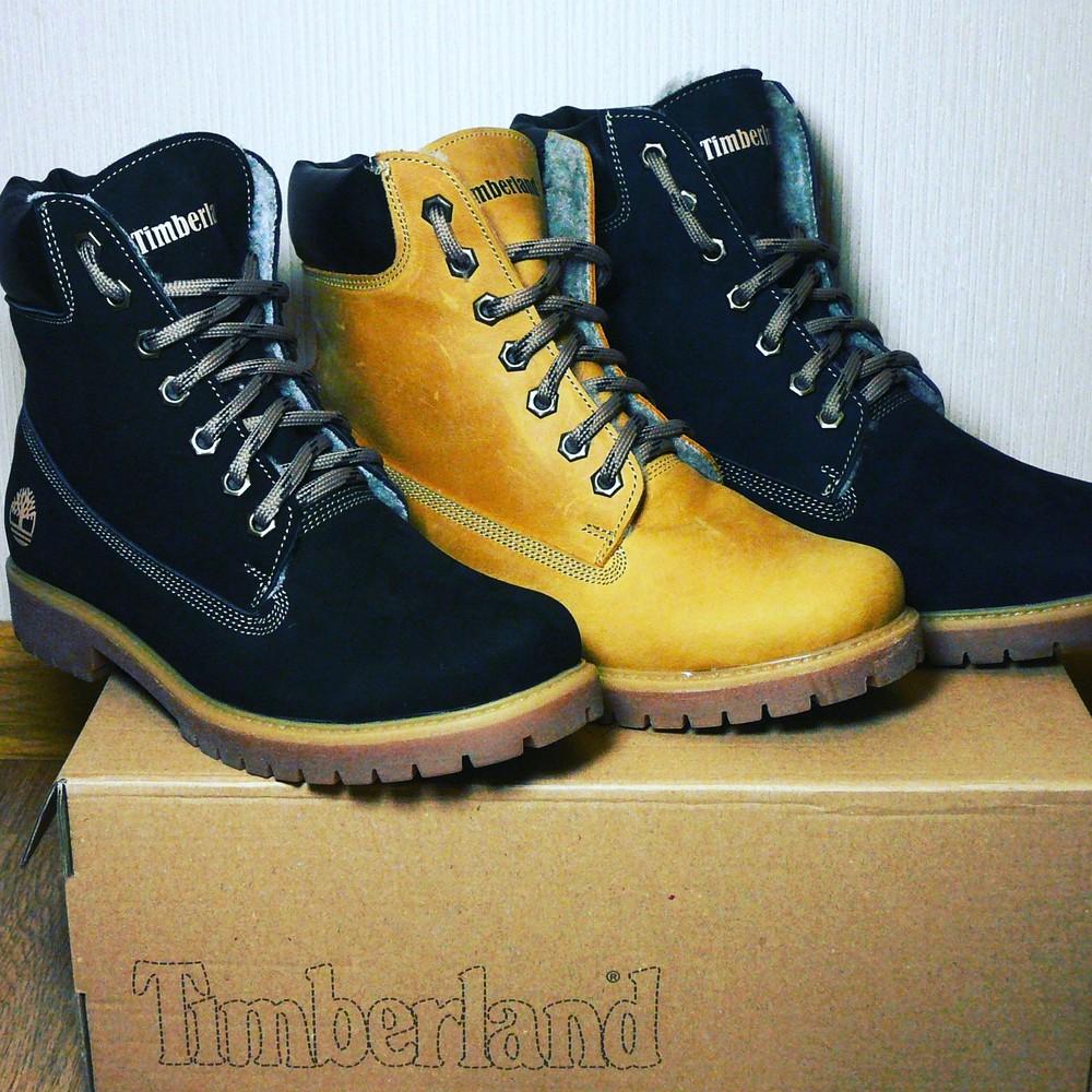 Timberland натуральные зимние женские мужские ботинки 36, 37, 38, 39, 40,41,42,43,44,45 фото №1