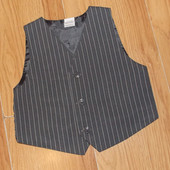 Фирменная жилетка для мальчика 3-4 года, 98-104 см