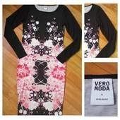 Фирменное платье миди Vero Moda, размер S