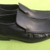 Туфли кожаные Next uk10, р.44, ст.29.5см.