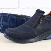 Ботинки зимние натуральная кожа 2 цвета В2387