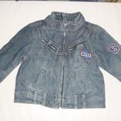 куртка джинсовая на 1-2 года
