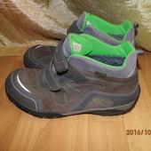 (№і095)кожаные мембранные ботинки 41-42 р Gore Tex