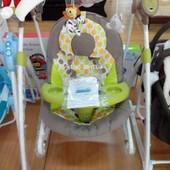 Убаюкивающая электроприводная колыбель для новорожденных с пультом Tilly (Тилли) 3в1 bt-ct-0005.