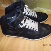 (№і0101)кожаные красовки-ботинки 40 р
