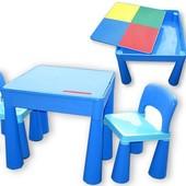 Наложенным! Столик и два стульчика Tega Baby Mamut(4 цв)