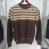 Мужской свитер ELM коричневый