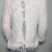 свитер букле травка с очень красивой спинкой р М=Л