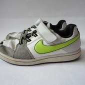 Кожаные кроссовки Nike  стелька 17,5см   р.28,5