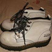 кожаные неубиваемые ботинки Worker 40-41