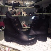 Hermes болтики в Наличии, зимние ботинки кожа мех, в Наличии зимняя обувь
