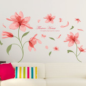 Наклейки на стену Нежные цветы