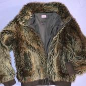 Шубка, меховая куртка рост 140 см.