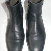 Мужские кожаные сапоги Clarks р.46 дл.ст 32см